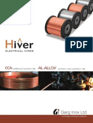 Al Alloy & CCA Catalog | Wire | Cable on