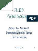 Unidad 1. Sistemas de Control Realimentado