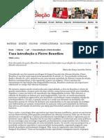 Revista Cult » Uma Introdução a Pierre Bourdieu