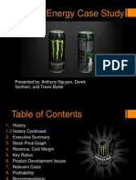 monster energy case study final