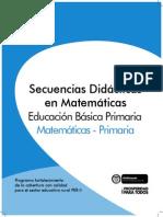 Secuencias Didácticas en Matemáticas