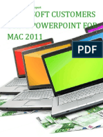 Microsoft Customers using PowerPoint for Mac 2011 - Sales Intelligence™ Report
