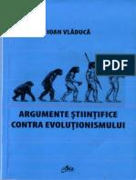 Argumente Stiintifice Contra Evolutionismului