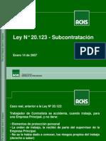 Ley Subcontratacion