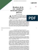 Pedro Salmerón - Falsificadores de La Historia - Cuando Los Mexicanos Ganan Guerras