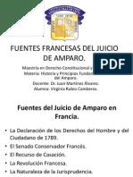 Fuentes Francesas Del Juicio de Amparo