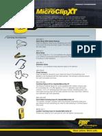 GasAlertMicroClip XT Accessories(6643 1 en)