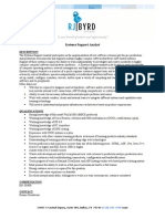 System Support Analyst-2