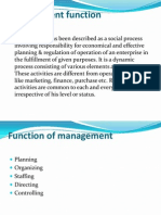 Management Function
