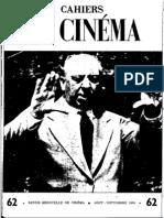 Cahiers Du Cinema 062