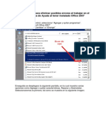 Configuracion de Office 2007