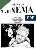 Cahiers Du Cinema 179