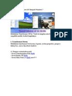 Transformasi Windows XP Menjadi Windows 7