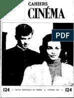 Cahiers Du Cinema 124