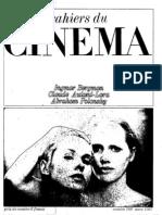 Cahiers Du Cinema 188
