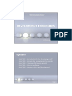 intro development economics