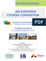 Young European Citizens Convention 2014