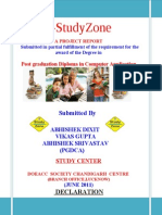Ashwani Katiyar(Estudyzone Documentation)