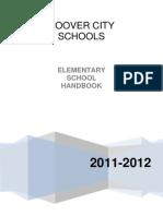 Elementary Handbook 2011-2012
