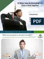 sales marketing alignment deckmq