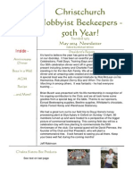 Christchurch Beekeepers' May 2014 Newsletter