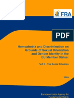 Homophobia and Discrimination on Grounds of Sexual Orientation