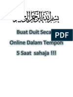 Buat Duit Secara Online Dalam Tempoh 5 Saat  sahaja.pdf