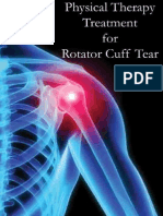 Physical Therapy Treatment for Rotator Cuff Tear