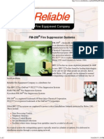 FM-200 Fire Suppression Systems