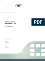 FortiWeb 5 0 CLI Reference Revision2