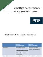 Anemia Por Deficiencia de PK
