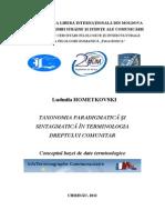 monografie hometkovski