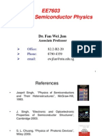 EE7603 Lecture Notes FWJ 2013