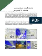Veche Gara Spaniola Transformata in Spatiu de Birouri