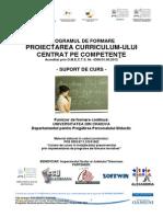 Curs Proiectarea Curriculum-ului Centrat Pe Competente