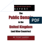 The Public Domain in the UK