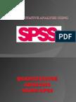 Analysis Using SPSS