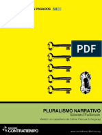 Pluralismo Narrativo (Edward Fullbrook), Contratiempo Ediciones, 2013