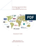 FEA Information International News for the World-wide engineering community, Nov 2001 issue