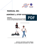 Temario Aeróbic y Step - Técnico FEDA Nivel II A