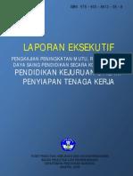 Pendidikan Kejuruan dalam Peyiapan Tenaga Kerja (Laporan eksekutif)