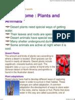 Desert Biome_ Plants and Animals