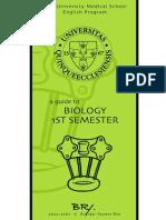 BRY's Biology, 1st Semester