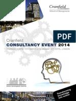 Cranfield Consultancy Event Guide 2014