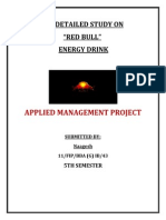 research project on red bull