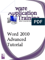 Word2010 Advanced