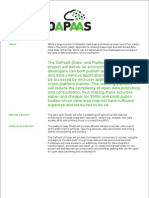 Dapaas Fact sheet - March 2014