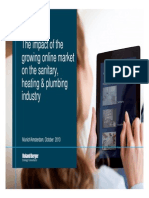 Roland Berger Impact of Online Market on Sanitary Heating Plumbing Industry 20131022