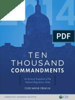 Ten Thousand Commandments 2014