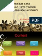 Tutorial Week 4 Grammar in Curriculum